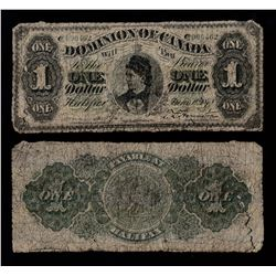 Dominion of Canada $1, 1878 Payable at Halifax