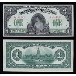 Dominion of Canada $1, 1917