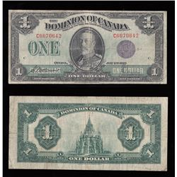 Dominion of Canada $1, 1923