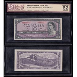 Bank of Canada $10, 1954