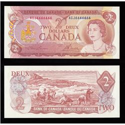 Bank of Canada $2, 1974