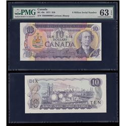 Bank of Canada $10, 1971