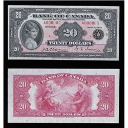 Bank of Canada $20, 1935
