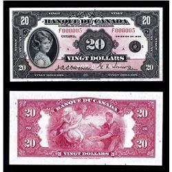 Banque du Canada $20, 1935