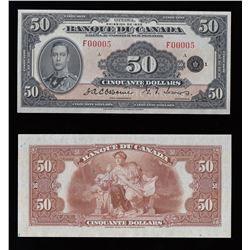 Banque du Canada $50, 1935