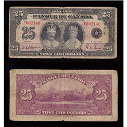 Banque du Canada $25, 1935