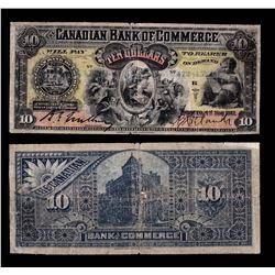 Canadian Bank of Commerce $10, 1912
