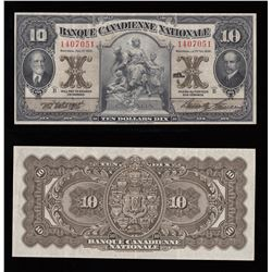 Banque Canadienne Nationale $10, 1929