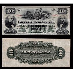 Imperial Bank of Canada $10, 1920
