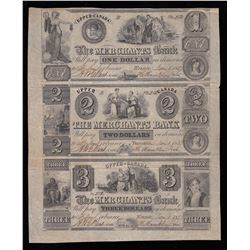 1837 The Merchants Bank Part Sheet