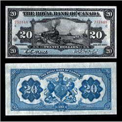 Royal Bank of Canada $20, 1913