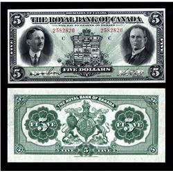Royal Bank of Canada $5, 1927