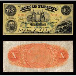 Bank of Toronto $10, 1923