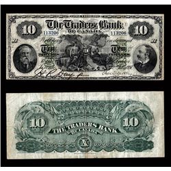 Traders Bank of Canada $10, 1897