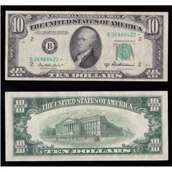United States of America $10, 1950 Replacement