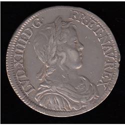 France 1/2 ECU, 1649 A