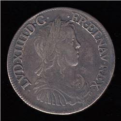 France 1/2 ECU, 1653 P