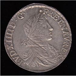 France 1/2 ECU, 1662 L
