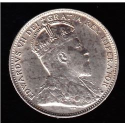 1904H Newfoundland Twenty Cents