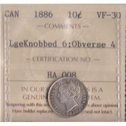 Canada - 1886 Ten Cents