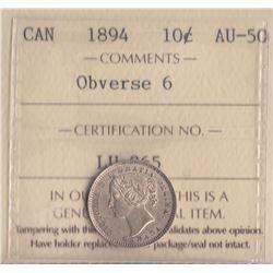 Canada - 1894 Ten Cents