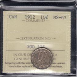 Canada - 1912 Ten Cents