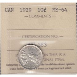Canada - 1929 Ten Cents
