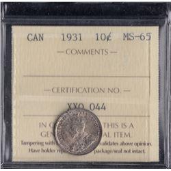 Canada - 1931 Ten Cents