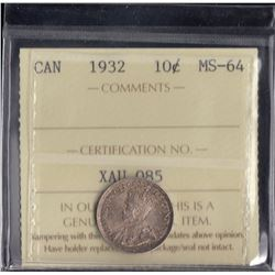 Canada - 1932 Ten Cents