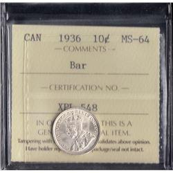 Canada - 1936 Ten Cents