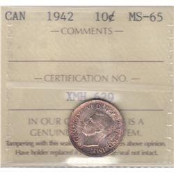 Canada - 1942 Ten Cents