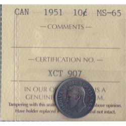 Canada - 1951 Ten Cents