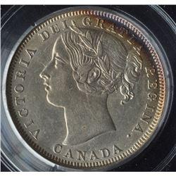 Canada - 1858 Twenty Cents