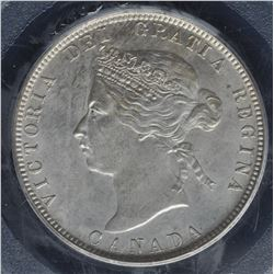 Canada - 1881H Twenty Five Cents