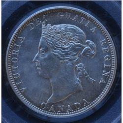 Canada - 1883H Twenty Five Cents