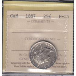 Canada - 1887 Twenty Five Cents