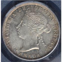 Canada - 1901 Twenty Five Cents