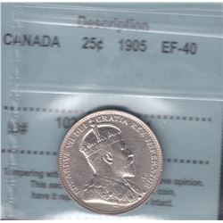 Canada - 1905 Twenty Five Cents