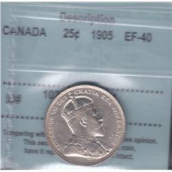 Canada - 1905 Twenty Five Cents