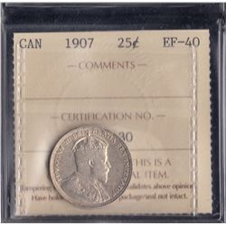 Canada - 1907 Twenty Five Cents