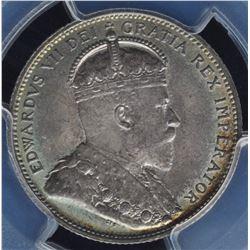 Canada - 1909 Twenty Five Cents