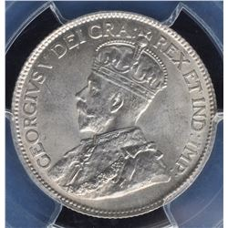 Canada - 1920 Twenty Five Cents