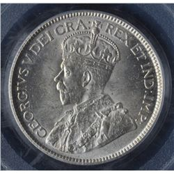Canada - 1928 Twenty Five Cents