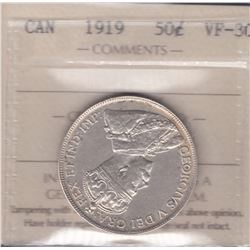 Canada - 1919 Fifty Cents