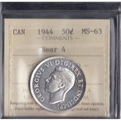 Canada - 1944 Fifty Cents