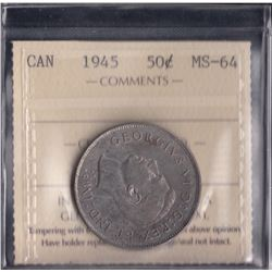Canada - 1945 Fifty Cents