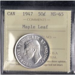 Canada - 1947 Fifty Cents