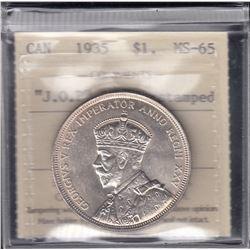 Canada - 1935 JOP One Dollar