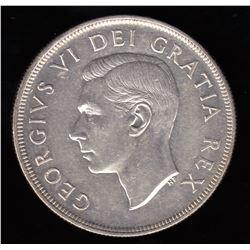 Canada - 1948 Silver Dollar