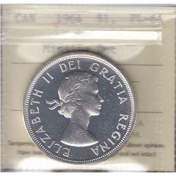 Canada - 1964 Silver Dollar